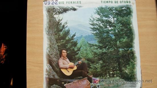 JOSE LUIS PERALES-TIEMPO DE OTOÑO-LP 1979- (Música - Discos - LP Vinilo - Solistas Españoles de los 70 a la actualidad)