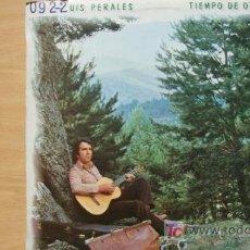 Discos de vinilo: JOSE LUIS PERALES-TIEMPO DE OTOÑO-LP 1979-. Lote 19212807