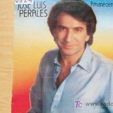Discos de vinilo: JOSE LUIS PERALES-AMANECIENDO EN TI-LP 1984-. Lote 19212894