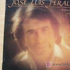 Discos de vinilo: JOSE LUIS PERALES-ENTRE EL AGUA Y EL FUEGO-LP 1982-. Lote 19212907