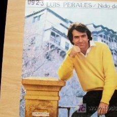 Discos de vinilo: JOSE LUIS PERALES-NIDO DE AGUILAS-LP 1981-. Lote 19212931