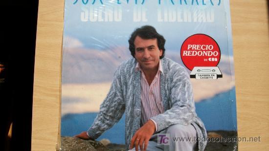 JOSE LUIS PERALES-SUEÑO DE LIBERTAD-LP 1987- (Música - Discos - LP Vinilo - Solistas Españoles de los 70 a la actualidad)
