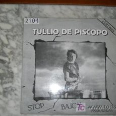 Discos de vinilo: TULLIO DE PISCOPO-STOP BAJON-PRIMAVERA-MAXI45RPM-1984-. Lote 19213460