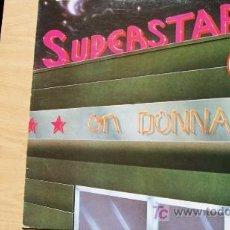Discos de vinilo: SUPERSTARS ON DONNA-MAXI45RPM-1983-. Lote 19215796