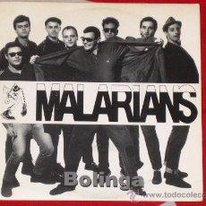 Discos de vinilo: *** MALARIANS *** BOLINGA *** 1992 EP *** MARATHON *** PROMO *** SKA REGGAE MADRID SKINHEAD. Lote 23651454