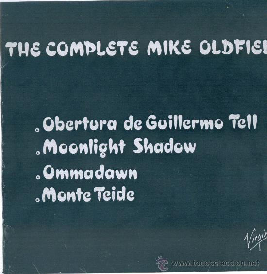 MIKE OLDFIELD. THE COMPLETE .... (VINILO MAXI PROMOCIONAL 1985) (Música - Discos de Vinilo - Maxi Singles - Pop - Rock - New Wave Internacional de los 80)