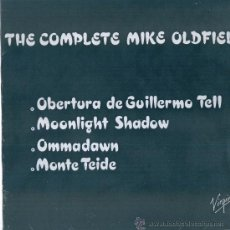 Discos de vinilo: MIKE OLDFIELD. THE COMPLETE .... (VINILO MAXI PROMOCIONAL 1985). Lote 53004637