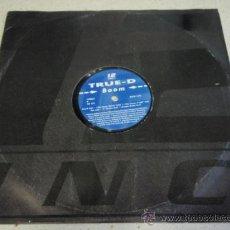 Discos de vinilo: TRUE-D (BOOM) 1994 STOCKHOLM LP33. Lote 19288454
