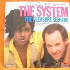 Discos de vinilo: SINGLE THE SYSTEM . Lote 145105372
