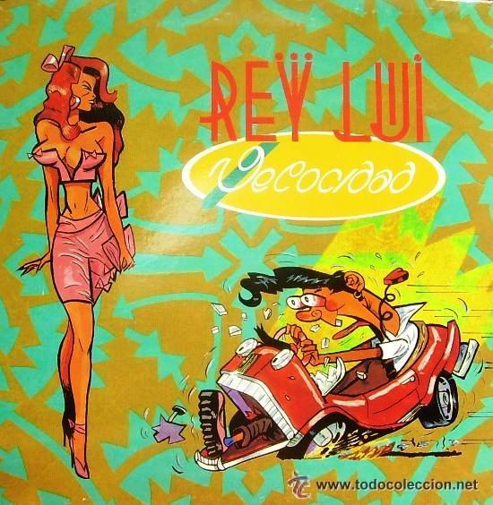 REY LUI - VELOCIDAD - 1990 (Música - Discos - LP Vinilo - Grupos Españoles de los 90 a la actualidad)