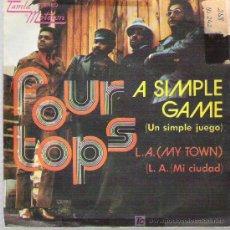 Discos de vinilo: FOUR TOPS - - A SIMPLE GAME ** TAMBLA MOTOWN ESPAÑA 1972. Lote 19307546