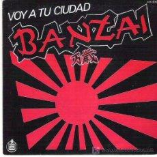 Discos de vinilo: BANZAI - VOY A TU CIUDAD ** HISPAVOX 1983 **. Lote 19307979