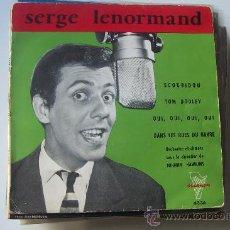 Discos de vinilo: SERGE LENORMAND EP TOM DOOLEY FRANCIA. Lote 19324048