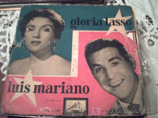 GLORIA LASSO LUIS MARINO/LA VOZ DE SU AMO EP/ PEPETO (Música - Discos de Vinilo - EPs - Solistas Españoles de los 50 y 60)
