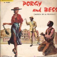 Discos de vinilo: GEORGE GERSHWIN - BSO DE LA PELÍCULA PORGY AND BESS - LP 1965. Lote 19353409