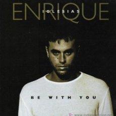 Discos de vinilo: ENRIQUE IGLESIAS - BE WITH YOU (3 VERSIONES) - MAXISINGLE 2000 - COMO NUEVO. Lote 19371746