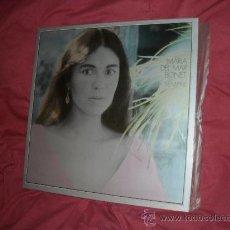 Discos de vinilo: MARIA DEL MAR BONET LP SIEMPRE PORTADA DOBLE CON ENCARTE. Lote 19304428
