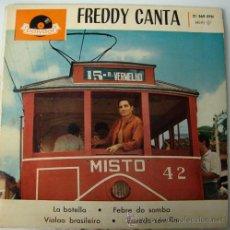 Discos de vinilo: FREDDY - FREDDY CANTA - EP ESPAÑOL DE 1961. Lote 19358971