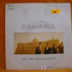 Discos de vinilo: SINGLE PANAMA. Lote 19385284