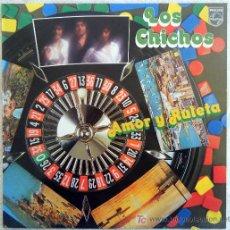 Discos de vinilo: LOS CHICHOS - AMOR Y RULETA- LP. Lote 57877506