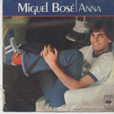Discos de vinilo: MIGUEL BOSE,ANNA DEL 78. Lote 19412569