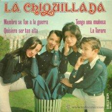 Discos de vinilo: LA CHIQUILLADA EP SELLO BELTER AÑO 1973 EDICCIÓN ESPAÑOLA. Lote 19420662