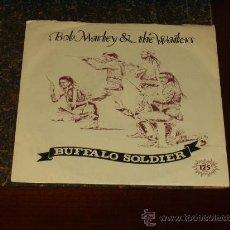 Discos de vinilo: BOB MARLEY SINGLE BUFFALO SOLDIER. Lote 19422536
