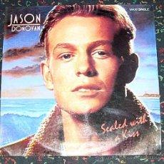 Discos de vinilo: JASON DONOVAN SEALED WITH A KISS MAXI 45 RPM EPIC 1.989. Lote 23341869