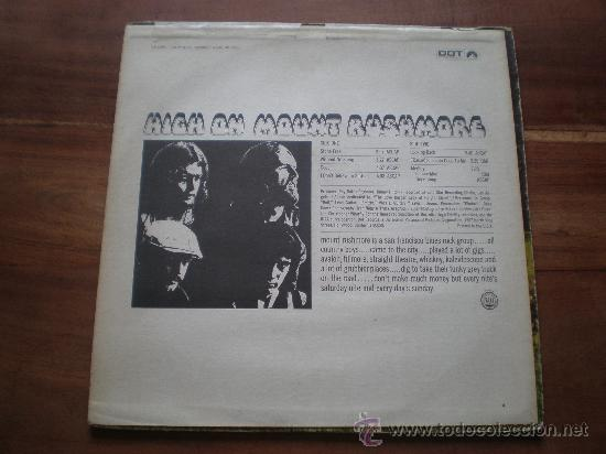 Discos de vinilo: MOUNT RUSHMORE - HIGH ON - (USA-DOT-1969) HARD ROCK PSYCH LP - Foto 2 - 26049101