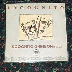 Discos de vinilo: INCOGNITO INCOGNITO - SHINE ON / ENSIGN RCA 1.981. Lote 23341878
