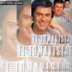 Discos de vinilo: EL TOMAVISTAS . PAOLO SALVATORE . MAXI SINGLE. Lote 20857476