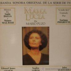Discos de vinilo: MAMA LUCIA - LUCIO DALLA - LUCIANO PAVAROTTI. Lote 26624798