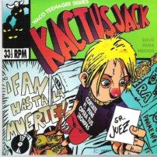 Discos de vinilo: KACTUS JACK ** FAN HASTA LA MUERTE ** XIXON SOUND 1994 WACO ** ** EP CARPETA DOBLE. Lote 19487037