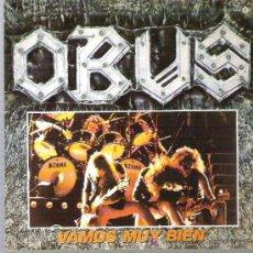 Discos de vinilo: OBUS - VAMOS MUY BIEN ** CHAPA DISCOS 1984 ** ** MINT. Lote 19487700