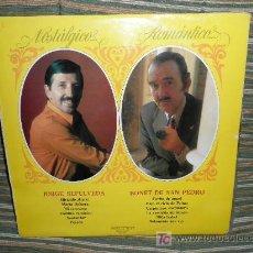 Discos de vinilo: JORGE SEPULVEDA/BONET DE SAN PEDRO LP BELTER 1972 - NOSTALGICO... ROMANTICO.... Lote 26801308