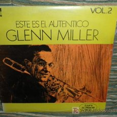 Discos de vinilo: GLENN MILLER - ESTE ES EL AUTENTICO VOL. 2 - RCA CAMDEN 1975 2LP´S - DOBLE PORTADA. Lote 26801282
