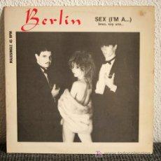 Discos de vinilo: BERLIN - SEX (I'M A...) MAXI SINGLE 12. Lote 19791552