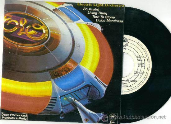 ELECTRIC LIGHT ORCHESTRA. OLE ELO (VINILO SINGLE EP PROMO 1978) (Música - Discos de Vinilo - EPs - Pop - Rock - New Wave Internacional de los 80)