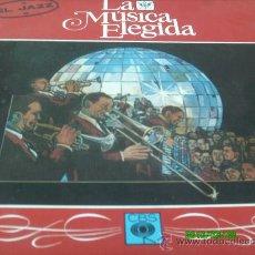 Discos de vinilo: LA MUSICA ELEGIDA / EL JAZZ / CAJA CON CUATRO LP´S Y LIBRO CON 94 PAGINAS CON FOTOS . Lote 25731810