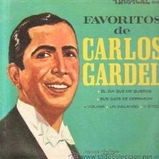 Disques de vinyle: FAVORITOS DE CARLOS GARDEL D-SOLLAT-181. Lote 24413882
