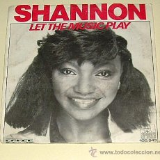 Discos de vinilo: SHANNON - LET THE MUSIC PLAY - ARIOLA DE 1983. Lote 19583228