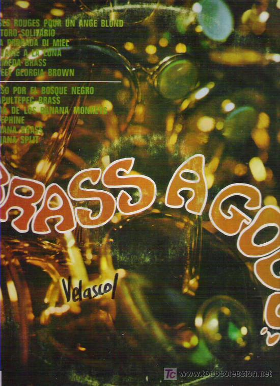 BRASS A GO GO - DIM RECORD 1968 (Música - Discos - LP Vinilo - Grupos Españoles 50 y 60)