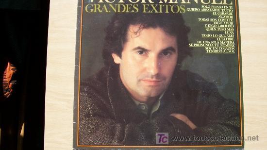 VICTOR MANUEL-GRANDES EXITOS (Música - Discos - LP Vinilo - Solistas Españoles de los 70 a la actualidad)