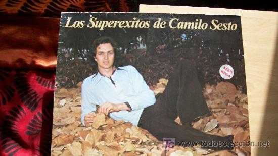 CAMILO SESTO-LOS SUPEREXITOS- (Música - Discos - LP Vinilo - Solistas Españoles de los 70 a la actualidad)