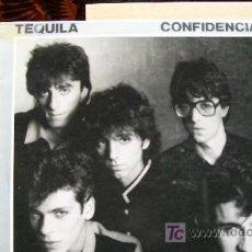Discos de vinilo: TEQUILA-CONFIDENCIAL. Lote 19610813