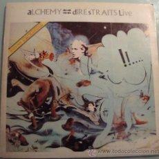 Discos de vinilo: DIRE STRAITS - ALCHEMY PARTE 2 - RARO LP ARGENTINO. Lote 19620550