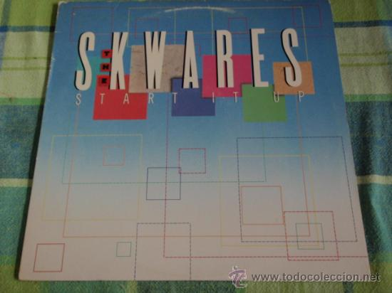 THE SKWARES ( START IT UP ) USA - 1988 LP33 MERCURY RECORDS (Música - Discos - LP Vinilo - Funk, Soul y Black Music)