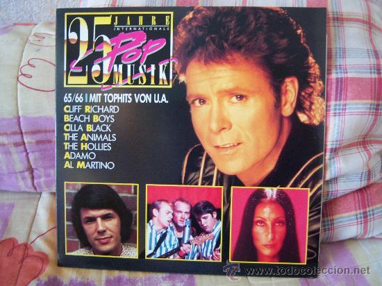 (2LP) 25 JAHRE INTERNATIONALE POP MUSIK 65/66 MIT TOPHITS VON U.A. (Música - Discos - LP Vinilo - Pop - Rock Extranjero de los 50 y 60)