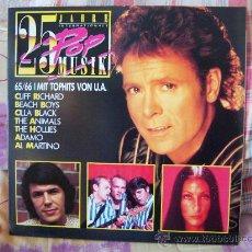 Discos de vinilo: (2LP) 25 JAHRE INTERNATIONALE POP MUSIK 65/66 MIT TOPHITS VON U.A.. Lote 26907647