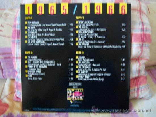 Discos de vinilo: (2LP) 25 JAHRE INTERNATIONALE POP MUSIK 65/66 MIT TOPHITS VON U.A. - Foto 2 - 26907647